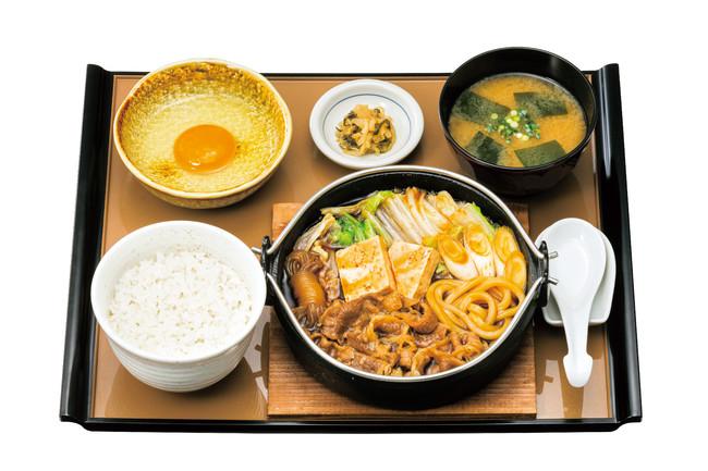 すき焼き定食 890円(税込)