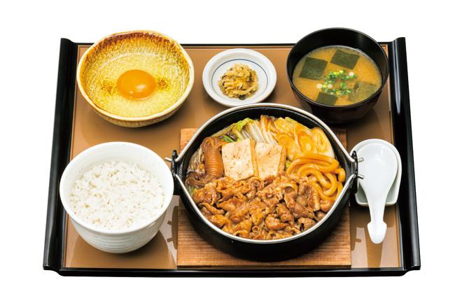 肉増・すき焼き定食 1,290円(税込)