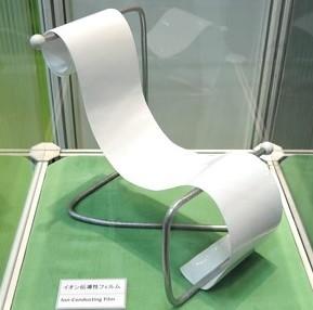 図2 開発した亜鉛電池用セパレータの外観写真