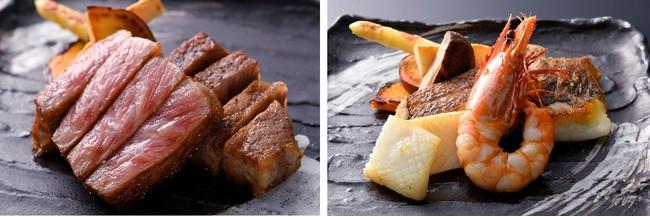 神戸牛 イメージ                    魚料理 イメージ