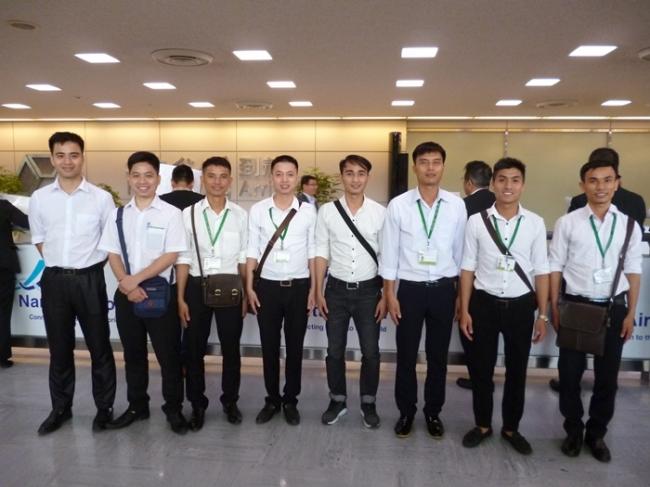 レオパレス21初、ベトナム国技能実習生の直接雇用 ベトナム国技能実習生第1期生の配属開始