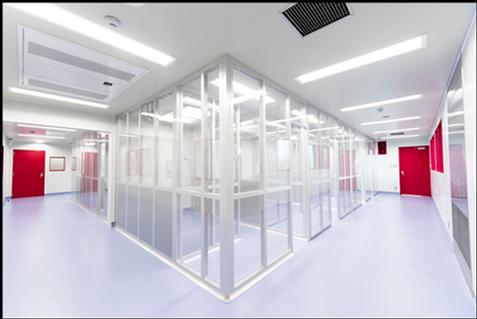 写真:iPS細胞由来心筋細胞パッチ用培養室