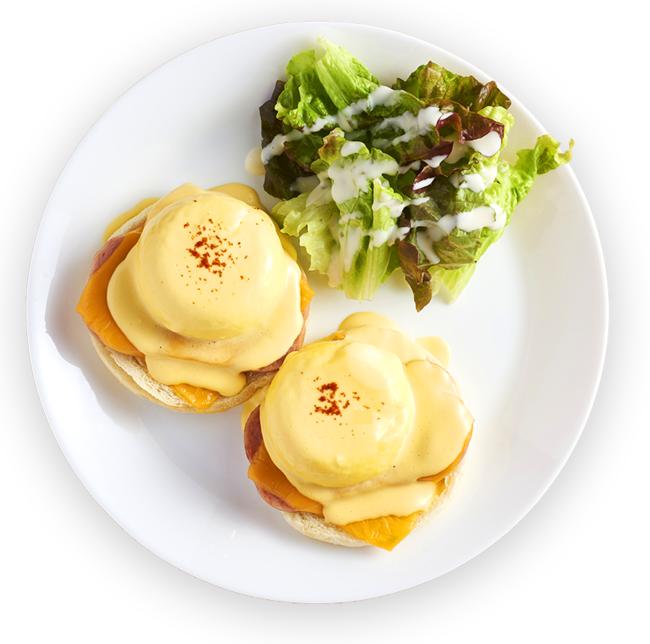 スパム&チーズベネディクト 1,080円