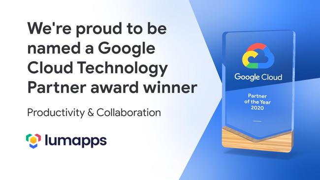 Google Cloud Technology Partner Award