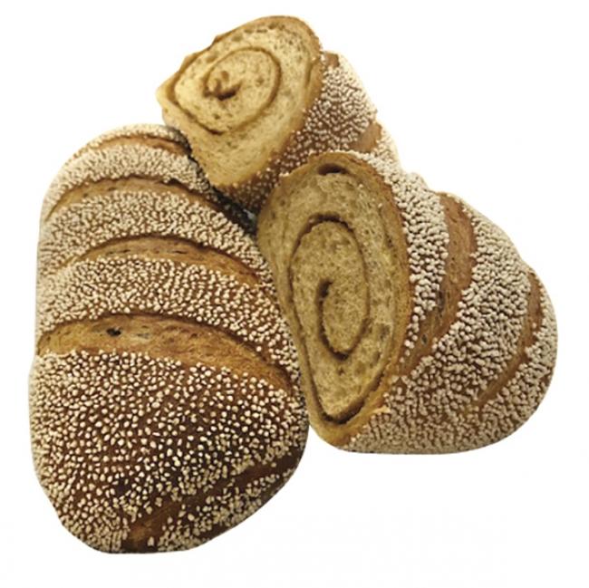 自然の甘み 黒糖パン
