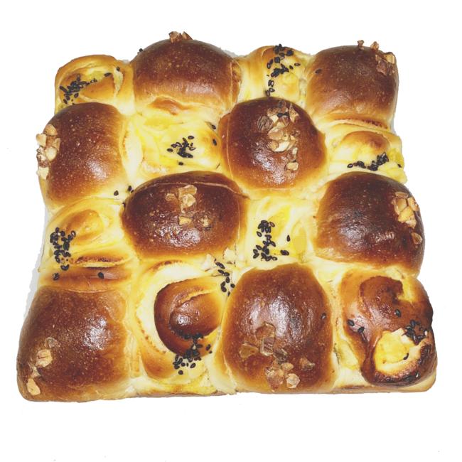 芋と栗のちぎりパン 245円