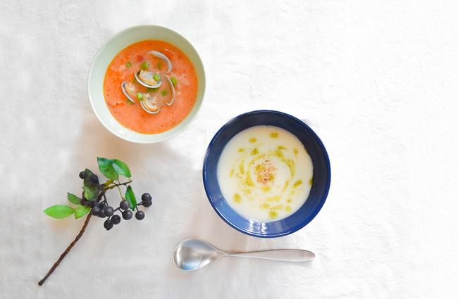 ?々な食材が溶け合い、心も体も温め元気にしてくれるスープ