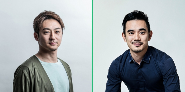 左:原田元輝、右:横山徳