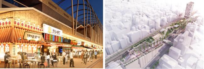 渋谷の新ランドマーク「MIYASHITA PARK」に食とエンタメが融合したハイパー横丁誕生 全国のご当地メニューが集結した「渋谷横丁」8月4日(火)オープン
