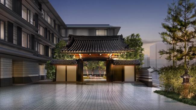 HOTEL THE MITSUI KYOTO エントランス