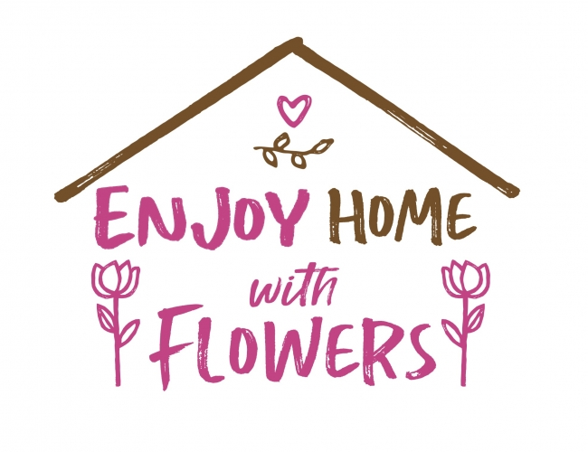 ENJOY HOME with FLOWERS logo