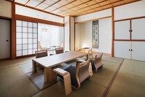 和室のお部屋が全6室。仕様はそれぞれ異なります