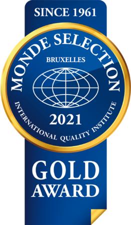 2021年度 金賞メダル