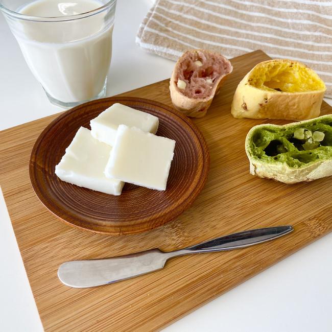 動物性脂肪を使わない大豆バターで