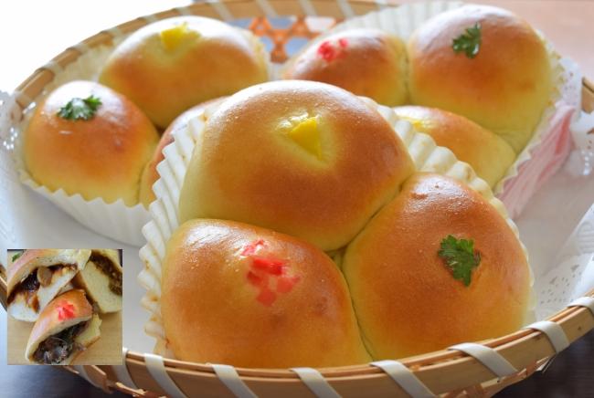 亀岡牛を味わいつくす3色パン