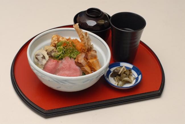 地域版・森の京都丼