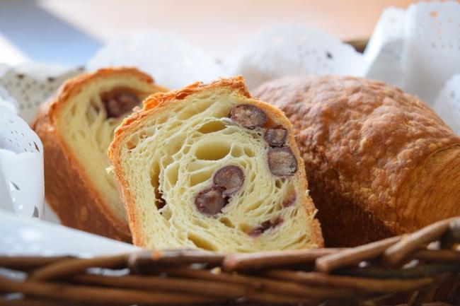 丹波大納言ミニクロワッサン食パン