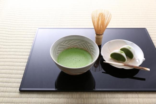 ▲「お茶とお菓子のセット」 /780円(税込)