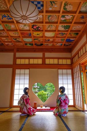 正寿院の天井画(宇治田原町)