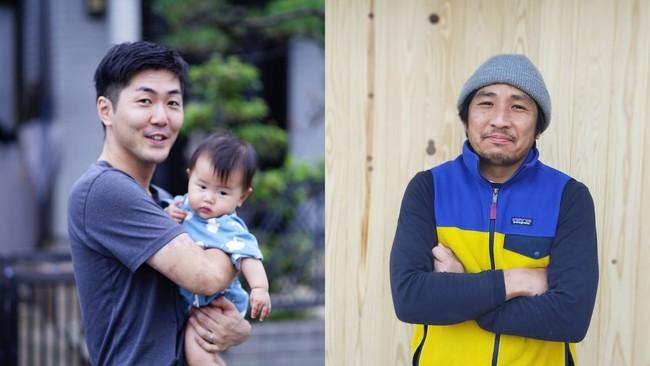 左:吉岡 大 氏(blueto合同会社 代表社員)、右:綿引 恒平 氏(陶芸家、こどもアトリエてくてく 代表)