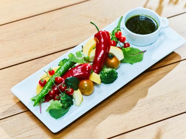 ゴロゴロ野菜のディップサラダ
