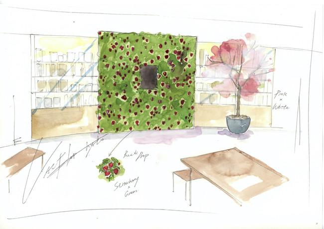 1階 MAENIWA 装飾イメージ