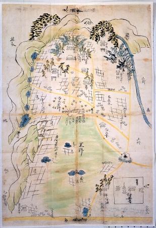 日根野村絵図