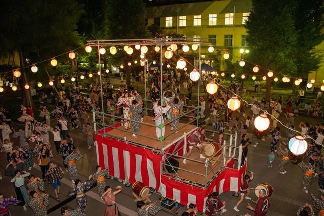 2019年度第9回鴨台盆踊りの様子