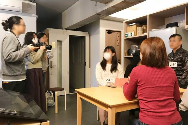 Graphium Houseで開催されたショートフィルム制作ワークショップの様子