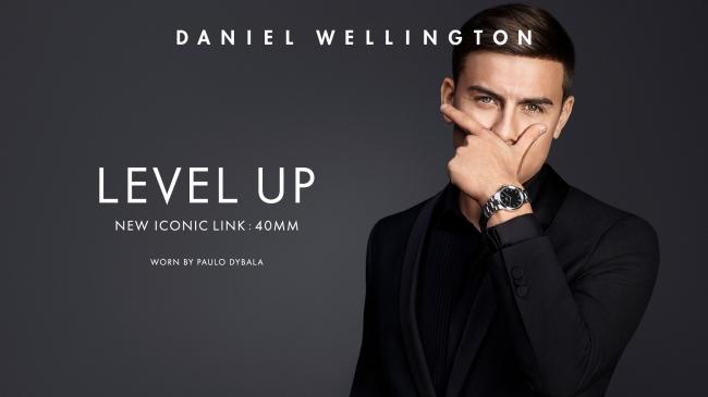 Daniel Wellingtonグローバルアンバサダー パウロ・ディバラ (サッカー選手 アルゼンチン代表セリエA・ユヴェントスFC所属)