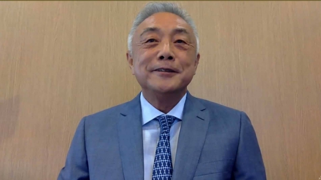 蒋 暁松理事長(日本医療国際化機構)