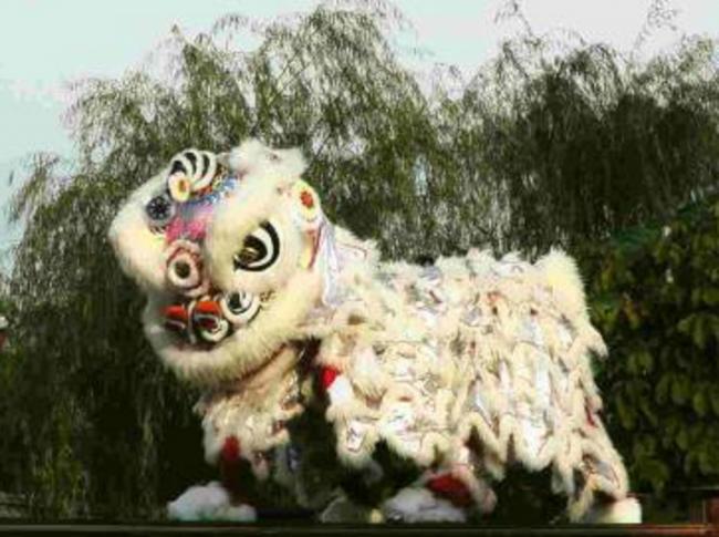 中国獅子舞演舞