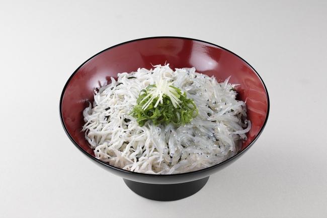 しらす2色丼 1,080円 (税込)