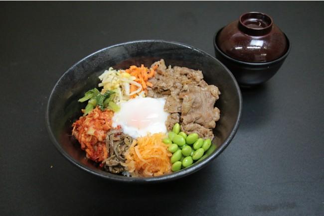 最優秀賞「がっつり飛騨牛ビビンバ丼」1,600円(税込)