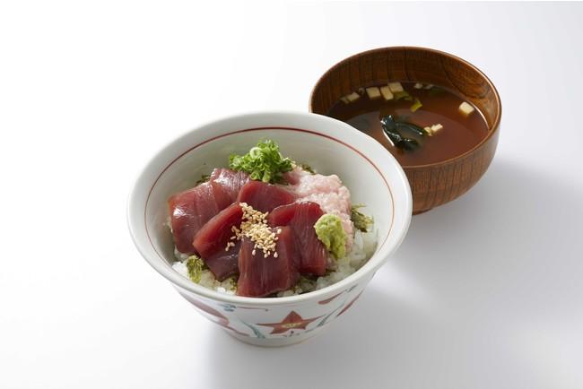 漬けまぐろとたたきの二味(ふたみ)丼(1,090円)