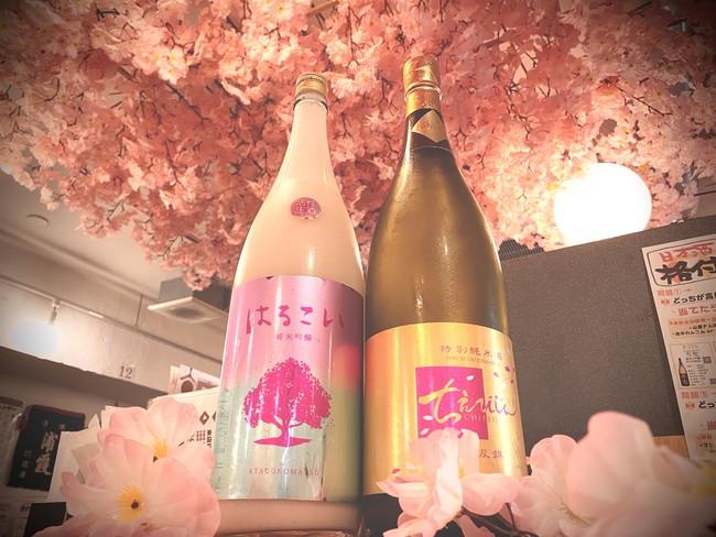 春限定の春酒もご提供しております。