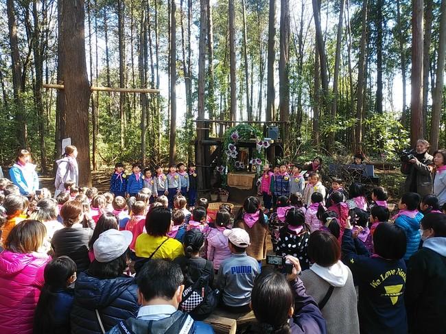 林の卒園式2020.3.18