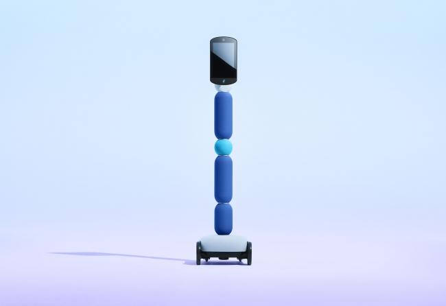 普及型コミュニケーションアバター「newme(ニューミー)」/画像提供:avatarin株式会社