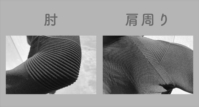※上記の写真はサンプル製作時、別の糸で編んだ製品です。