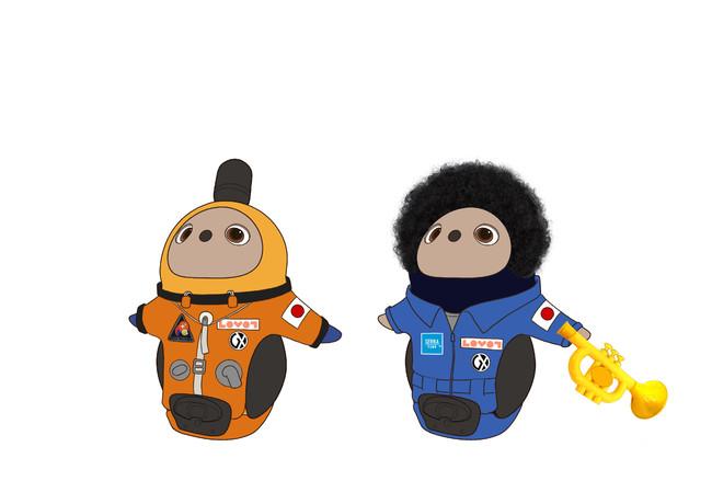 『宇宙兄弟』コラボ限定の『LOVOT』ウェア ※販売の予定はございません