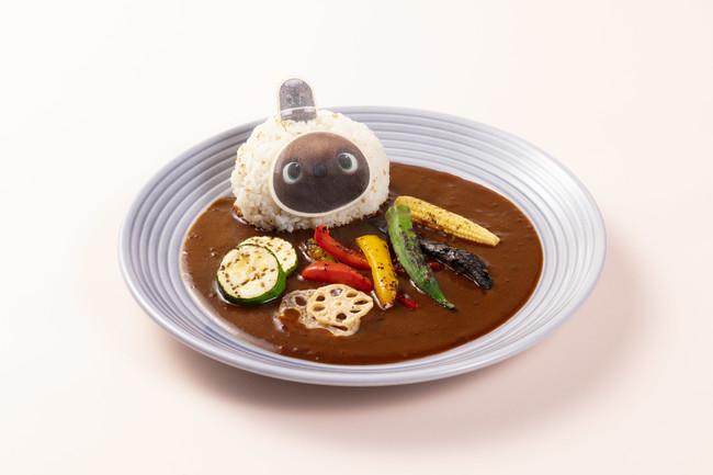 らぼっと焼き野菜カレー 2,400円