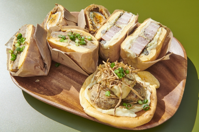 クラウドブレッドサンドイッチ
