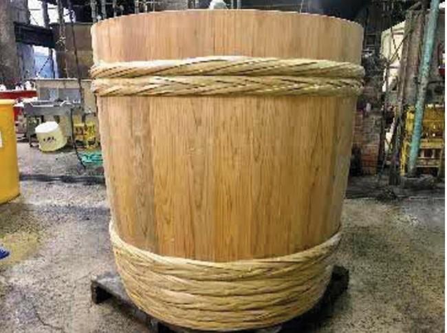 2017年に新調した木桶