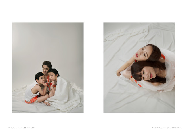 The Wonder Connection母と子のポートレート