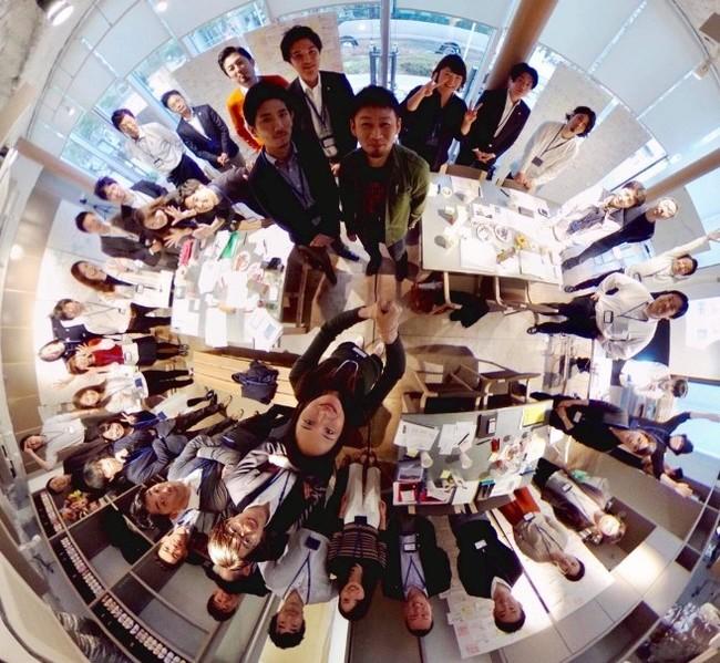 プロジェクトメンバーによる360度写真
