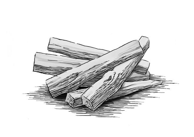 ガイヤックウッド(ブルネシアサルミエントイ木油)