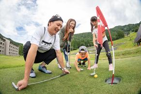 家族みんなで楽しめる「パターゴルフ」