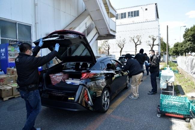 スルー 検査 ドライブ 大阪