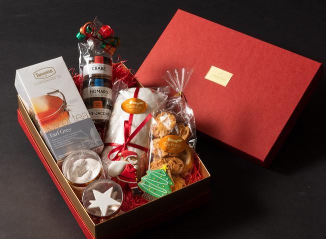 クリスマスハンパーボックス 紅茶付き