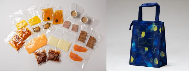 包装資材は、環境に配慮したリユース可能な「Ecoバッグ」で配送